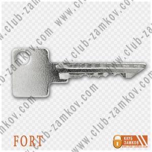 ключ к накладному замку форт фото