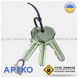 Висячий замок арико ключи