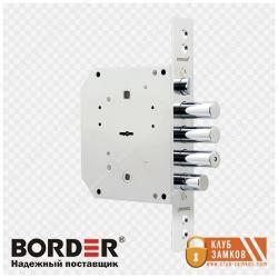 Врезной сувальдный замок Border (Бордер) ЗВ 9-6 КЗ (Левый / Правый)