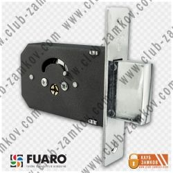 Врезной замок Fuaro (Фуаро) 200-F крест ключ