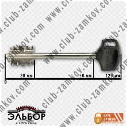 фото ключа к замку гранит эльбор