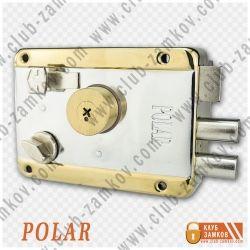 Накладной замок Polar 041 TP (крест ключ)