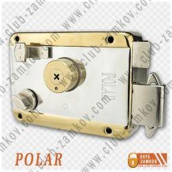 Накладной замок Polar 051 TP-C (крест ключ)