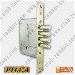 Врезной замок Pilca (Пилка) 189-4MF крест ключ