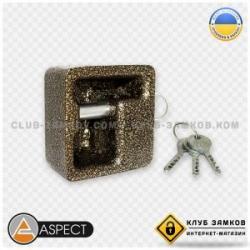 Замок навесной ASPECT ЗН-К-90 (3 кл.) бронза